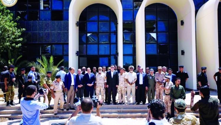 خلافات تضرب مؤتمر المصالحة الليبية في تونس