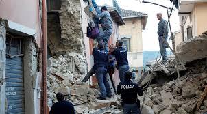 زلزال قوته 7.1 درجة يضرب وسط إيطاليا
