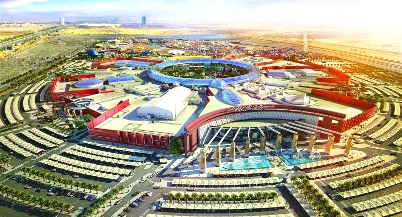 دبي مقر أول مركز تسوق عالمي مستوحى من الطبيعة
