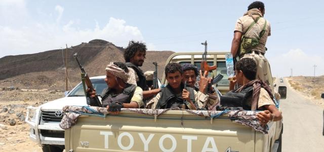 قوات الشرعية تواصل تقــدمها في جبهات تعز والجوف وشمـال صنعاء