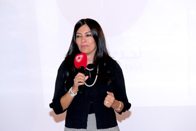 """زهراء طاهر مديرة لأحد جلسات """"استراتيجيات الإعلام المتغير في العلاقات العامة"""""""