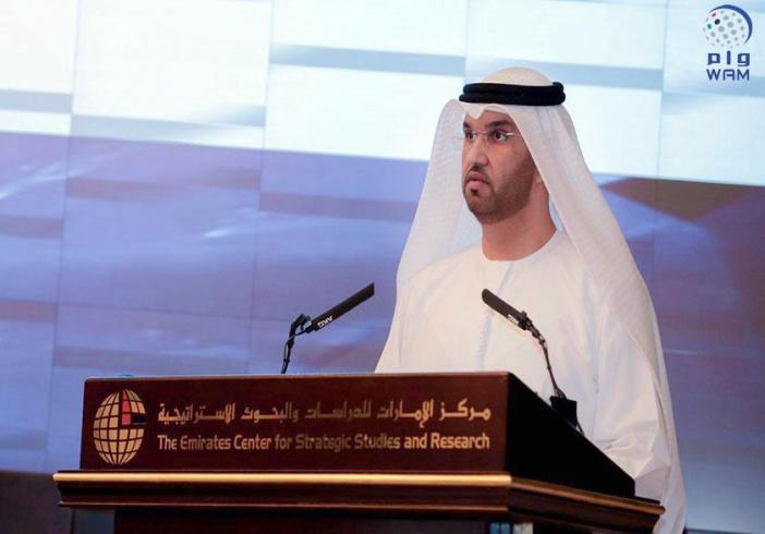 سلطان الجابر: الإعلام في دولة الإمارات يتميز بالتعامل الواقعي والمهني مع الأحداث