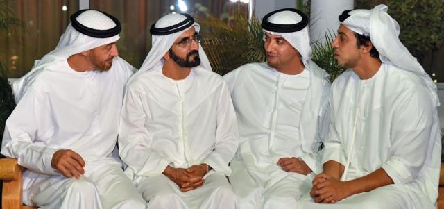محمد بن راشد ومحمد بن زايد يبحثان تحصين الوطن وإسعاد المواطن