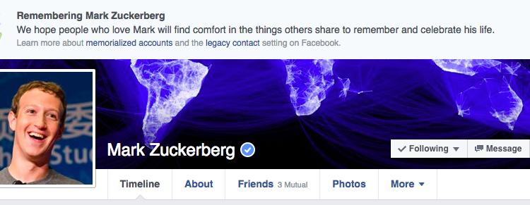 """خلل غريب في """"فيسبوك"""" يظهر مستخدميه كأموات"""