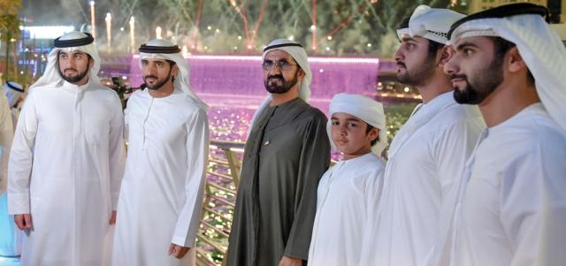 محمد بن راشد: دبي دخلـــــت مرحلة جديدة معمارياً وتجارياً وجغرافياً