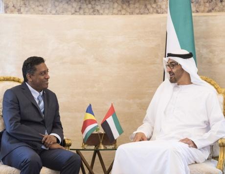 محمد بن زايد: بقيادة خليفة حريصون على تعزيز العلاقات مع سيشل