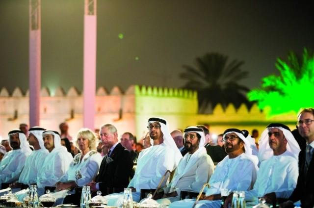 محمد بن زايد والأمير تشارلز يشهدان إطلاق عام الثقافة الإماراتية البريطانية