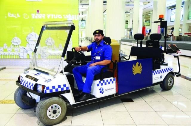 مركبة ذكية للتخليص الجمركي في مطارات دبي