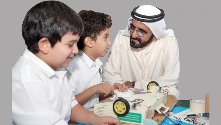 محمد بن راشد: دعم المبتكـرين من أبناء الإمارات ركيزة أساسية لعمل حكومة المستقبل