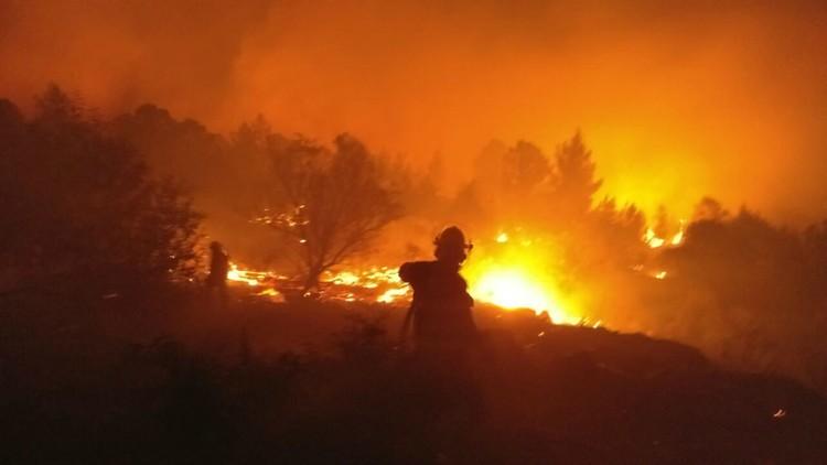 حريق هائل يلتهم شمال إسرائيل.. ونتنياهو يستنجد بتركيا واليونان وإيطاليا وقبرص