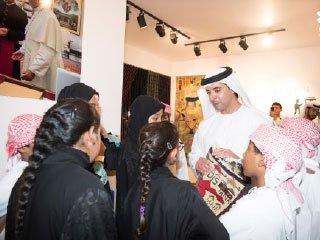 هزاع بن زايد: محمد بن زايد يمنح الثقافة والفنون كل الدعم والتشجيع