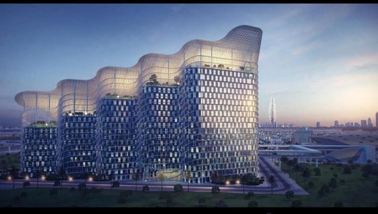 شاهد بالفيديو.. مبنى هيئة كهرباء ومياه دبي .. أكبر وأذكى مبنى حكومي في العالم