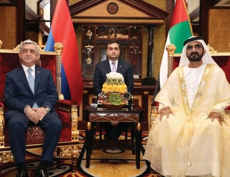 محمد بن راشد: الإمارات منفتحة على الشعوب المحبة للخير والسلام
