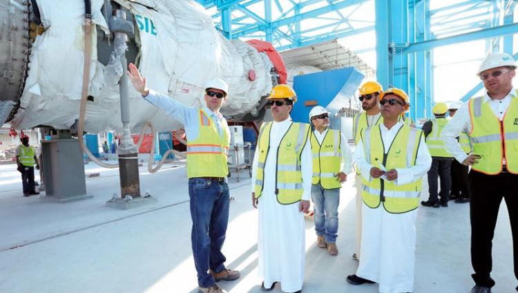 «كهرباء دبي» تنجز 53% من توسعة المحطة «إم»