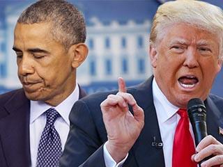ترامب يهاجم أوباما بتصريحات نارية.. ويدعم إسرائيل بقوة