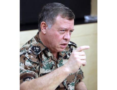 عبدالله الثاني يتوعّد الإرهابيين والعابثين بأمن الأردن