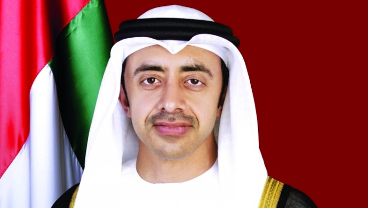 عبدالله بن زايد ولافروف يتبادلان التهاني بمرور 45 عاماً على العلاقات الدبلوماسية