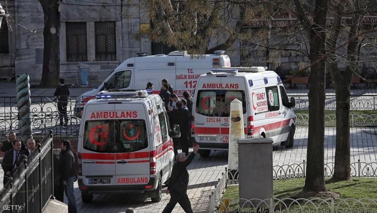 قتلى وجرحى بانفجار قرب جامعة استهدف حافلة للجيش التركي