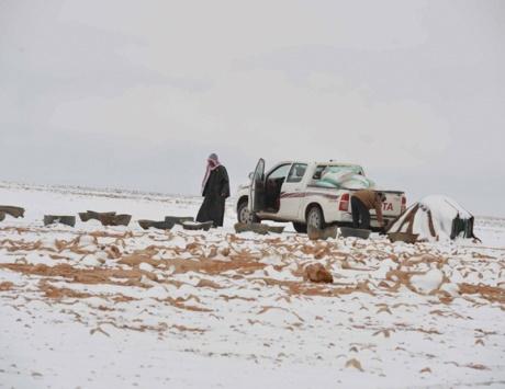 ثلوج «سيبيرية» تغطي مناطق سعودية