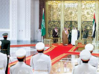 محمد بن زايد: المملكة العربية السعودية عمود الخيمة الخليجية والعربية