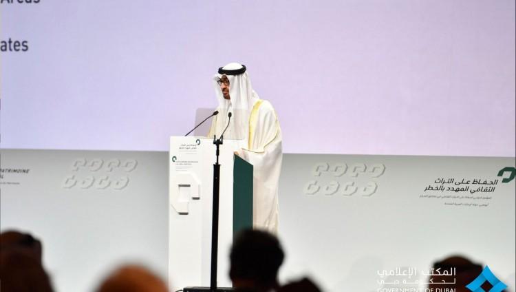 محمد بن زايد يوجه نداء للعالم بالتعاون للسيطرة على تهريب الآثار
