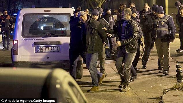 إلقاء القبض على مطلق النار أمام السفارة الأميركية في أنقرة