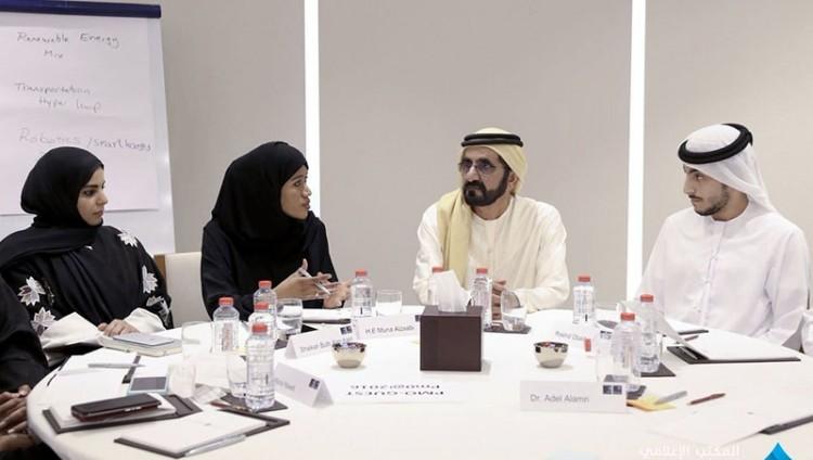 محمد بن راشد يوجه بتأهيل أكثر من 500 مستشرف مستقبلي من أبناء الإمارات