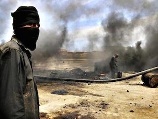 «داعش» يحرق منازل أهالي الموصل