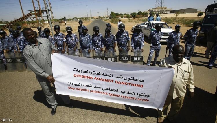 واشنطن ترفع بعض العقوبات عن السودان بعد 180 يوما