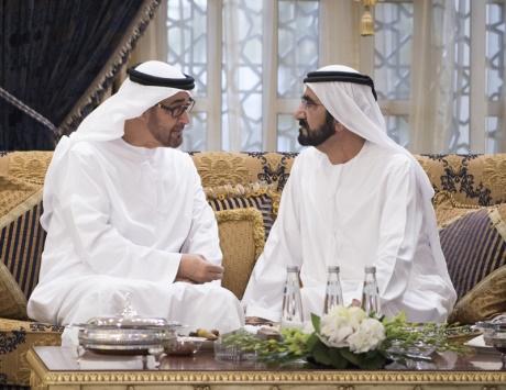 محمد بن راشد ومحمد بن زايد: 2017 عام خير ونماء