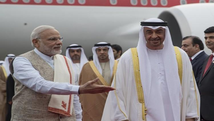 محمد بن زايد: الهند شريك في التنمية ومواجهة الإرهاب