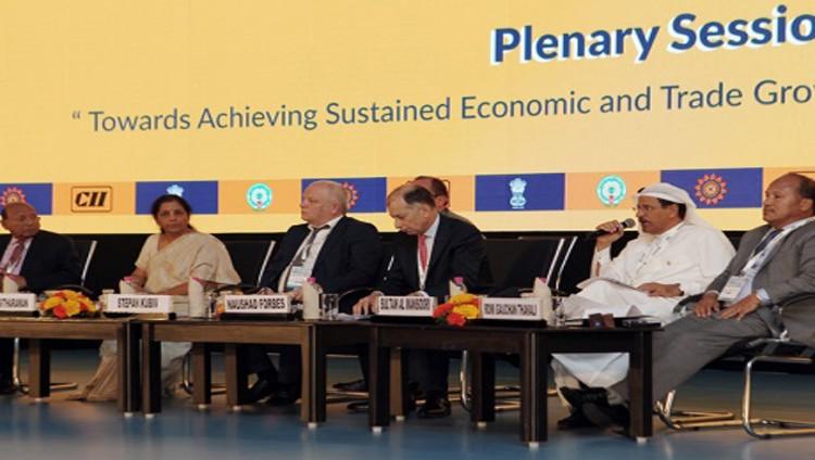 الإمارات تبحث في الهند الممكنات العالمية للنمو المستدام