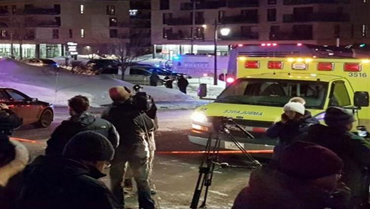 خمسة قتلى على الأقل في هجوم مسلح استهدف مصلين في مسجد بكندا