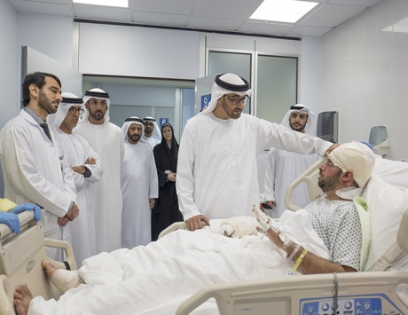 محمد بن زايد: بقيادة خليفة لن نحيد عن خدمة الإنسانية