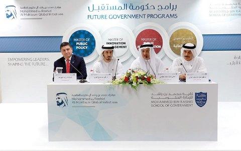 «محمد بن راشد للإدارة» تدعم حكومة المستقبل بـ 3 برامج ماجستير