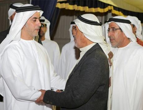 العين تشيع جثمان شهيد الإنسانية عبدالله محمد عيسى الكعبي
