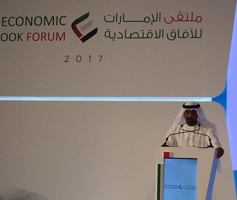أحمد بن سعيد:  2.7% نمو اقتصاد دبي عام 2016 ومتوقع ارتفاعه إلى 3.1% في 2017