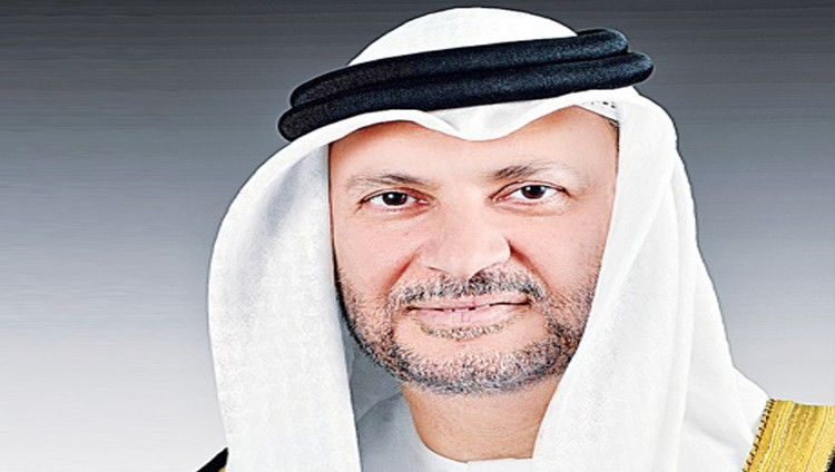 قرقاش: الإمارات دولة الحضارة شاء من شاء وأبى من أبى