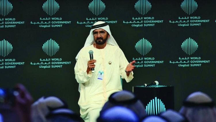 محمد بن راشد: نريد أفكاراً مبتكرة تسبق العالم