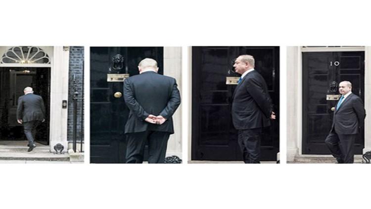 صفعة غير مسبوقة : لا أحد في استقبال نتنياهو في مقر حكومة بريطانيا