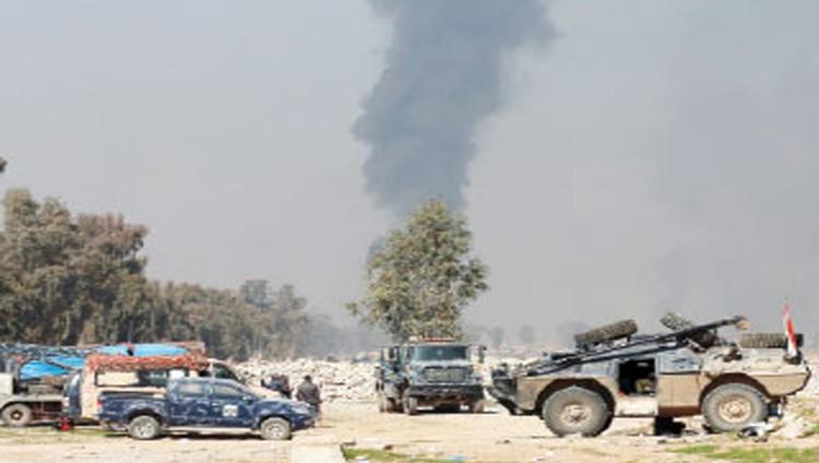 غارات عراقية غير مسبوقة ضد مواقع «داعش» في سوريا