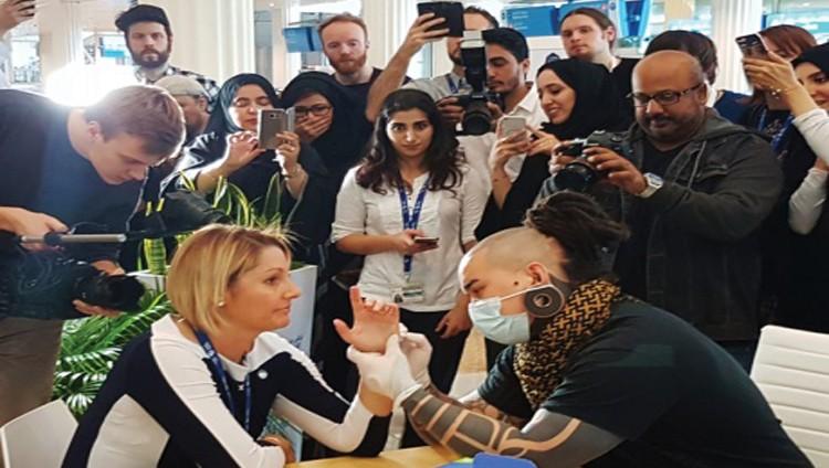 مطارات دبي تساهم في تعزيز السعادة
