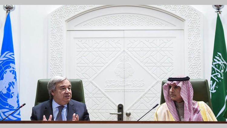 الجبير: لدى التحالف خطة لإعادة بناء اليمن.. والحوثي وصالح أفشلا 70 اتفاقاً