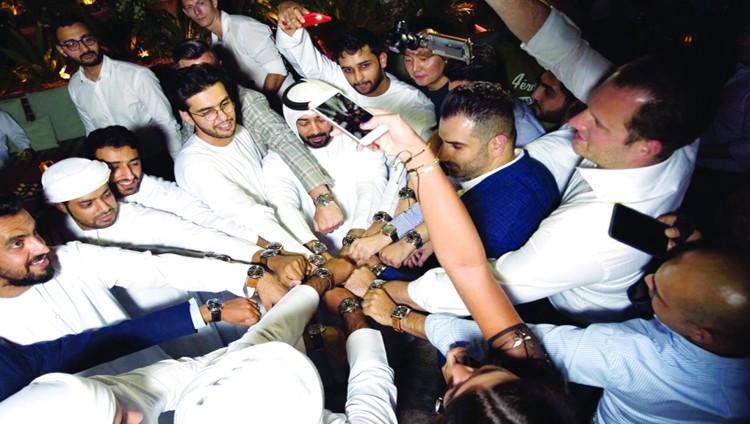 نادٍ لعشاق الساعات الفاخرة في دبي