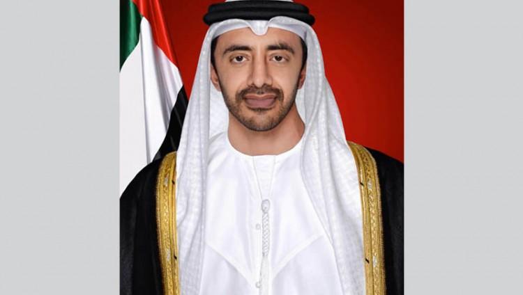 عبدالله بن زايد يستنكر الجريمة الإرهابية التي استهدفت استقرار البحرين وأمنها