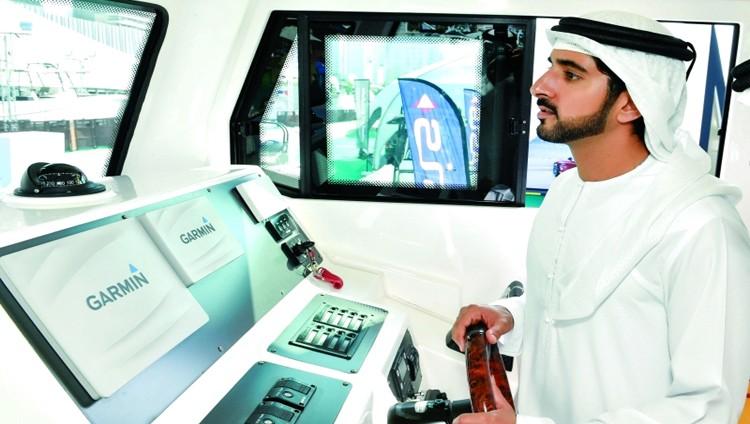 حمدان بن محمد: «دبي العالمي للقوارب» يعــــــزز مكانته في صناعة اليخوت دولياً