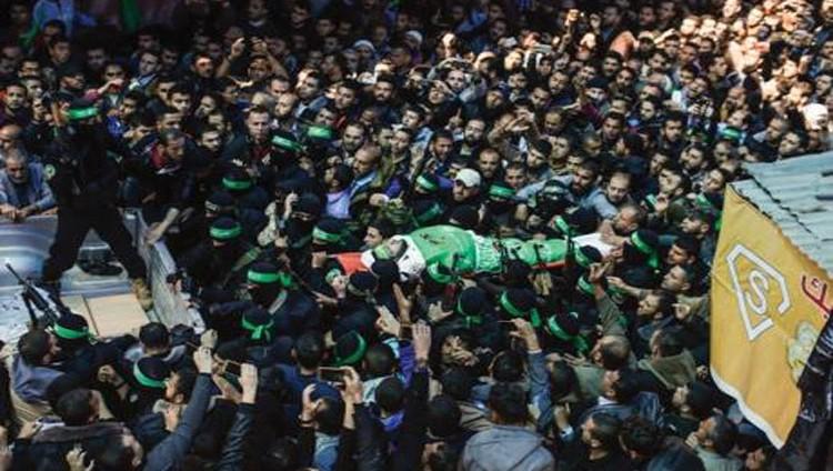 غزة تشيّع فقهاء .. و«حماس» تحمِّل «إسرائيل» مسؤولية اغتياله