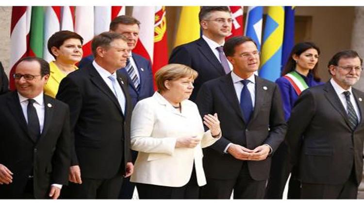 قادة أوروبا يتعهدون بالوحدة في ذكرى تأسيس «الاتحاد»