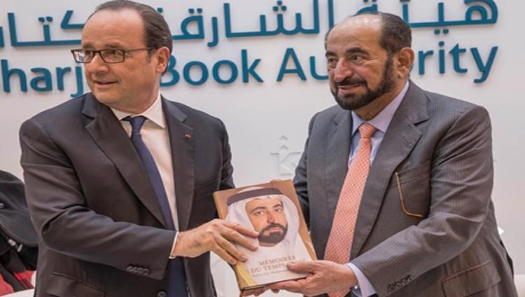 سلطان وهولاند يبحثان دعم النشر والحفاظ على التراث