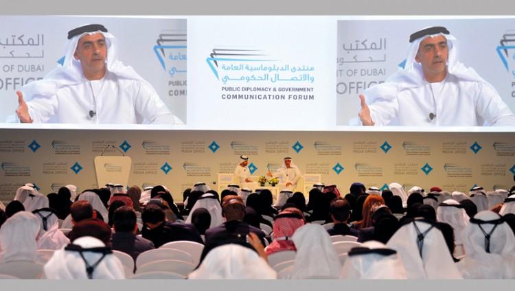 سيف بن زايد: خطاب الإمارات يعزز السلام والتعايش بين الشعوب